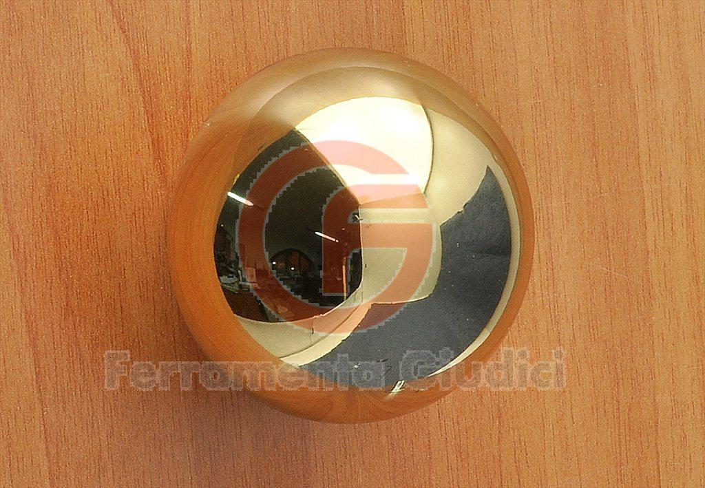 Pomolo maniglia 170 ottone lucido maniglie porte porta omp - Maniglie porte ingresso ...