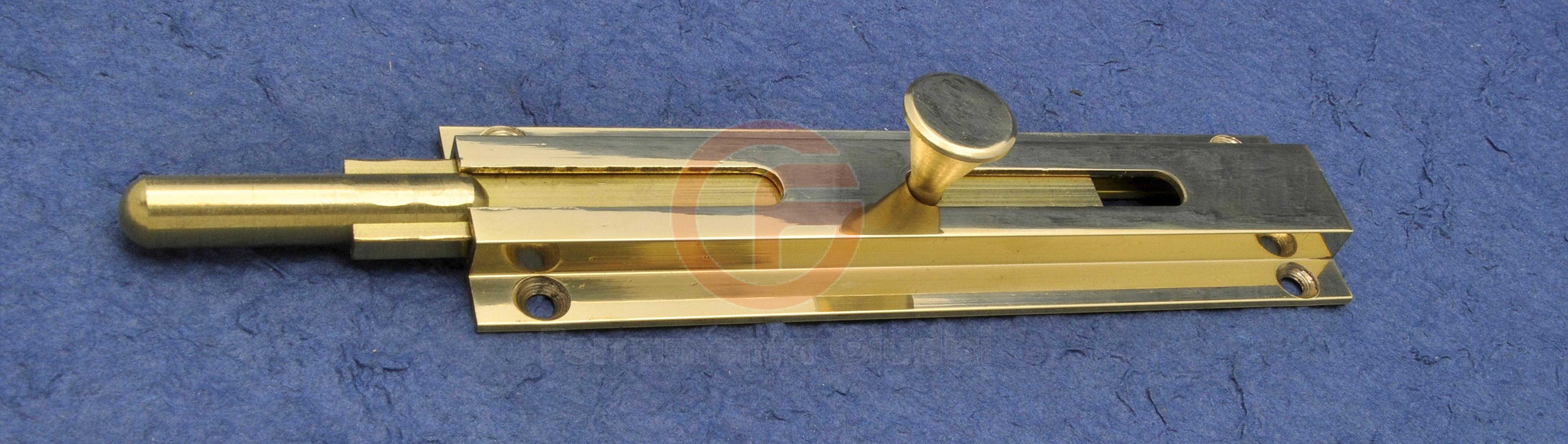 Catenaccio verticale per porte e portoni ottone ebay - Catenacci per porte blindate ...