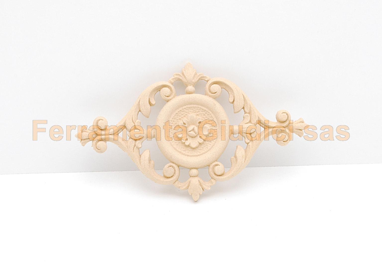 Fregio pasta legno per mobili antichi pareti decoupage ebay - Decoupage mobili legno ...